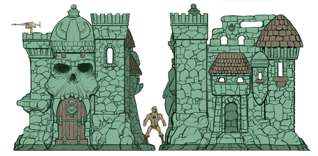 Grayskull blueprints